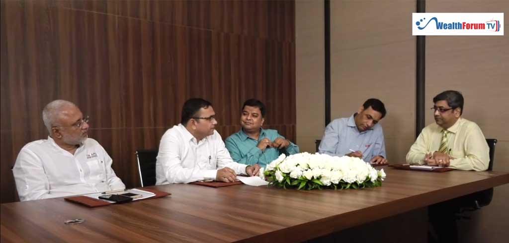 Ranjit Dani, G V Iyer, Bhavnesh Khetan, Miland Khasnis