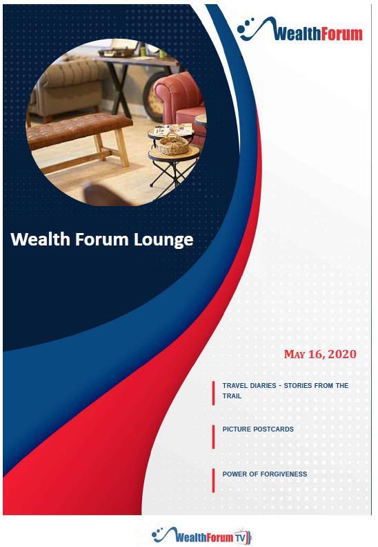 WealthForum Lounge - 16May20 edition