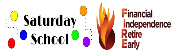 Saturday School introduces The FIRE Blog