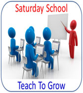 Saturday School: Teach To Grow